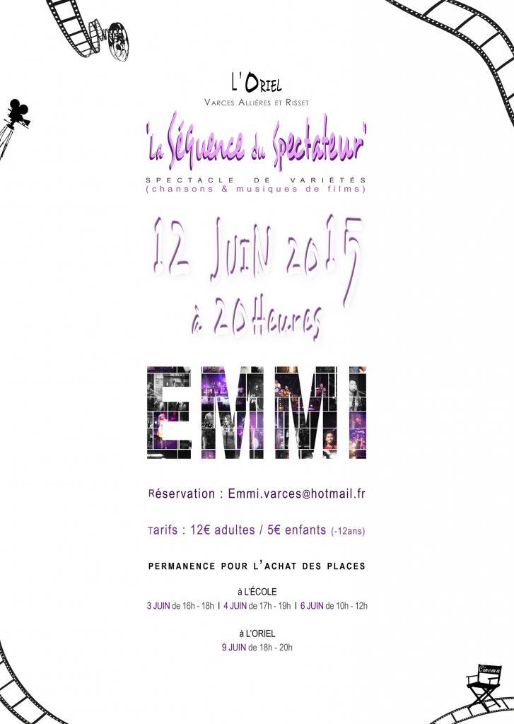 SPECTACLE     E.M.M.I      2015