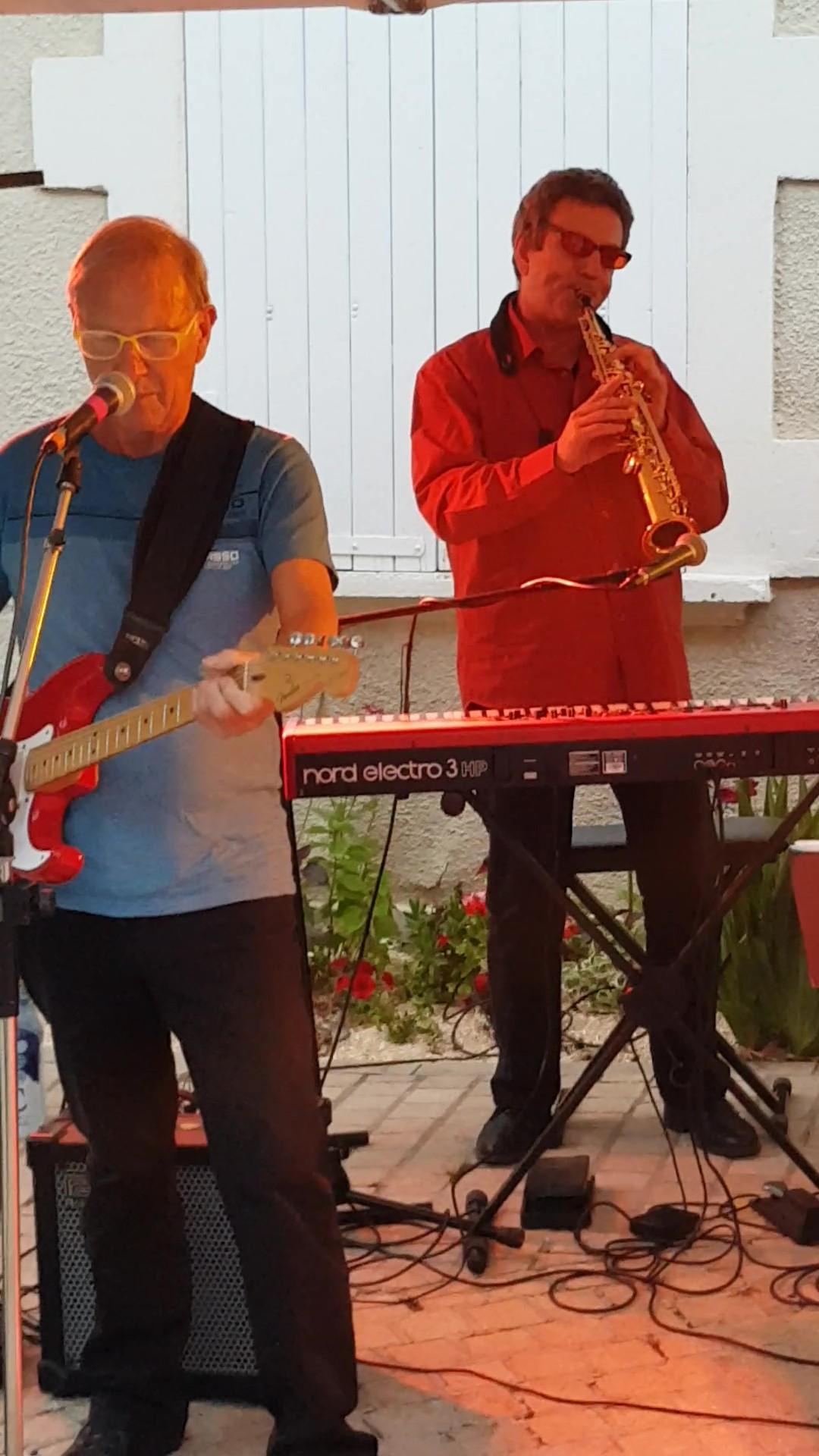Yves Arnol et Alain Don Simoni