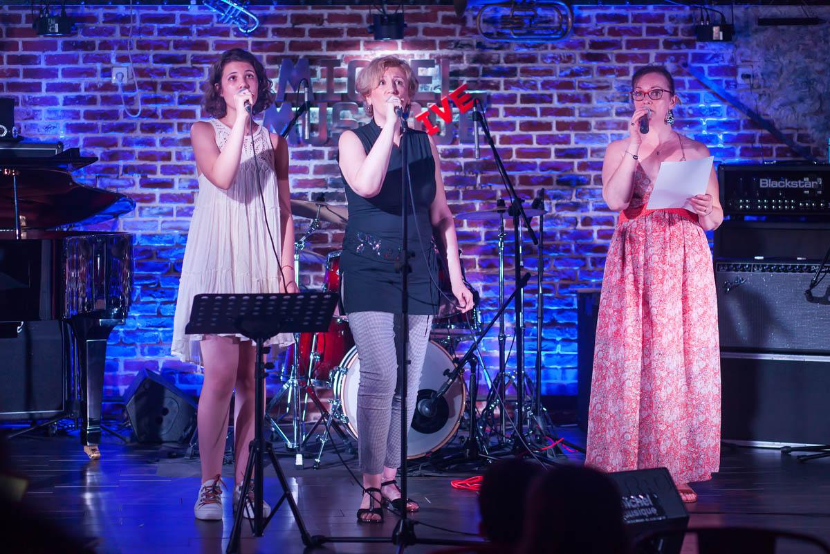 Amyrose, Sylvie et Claire